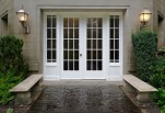 White-square-french-doors