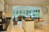 Wooden-Conservatory-Open-Plan-Kitchen-rooflantern